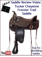 Tucker Cheyenne Frontier Trail Saddle Review Video
