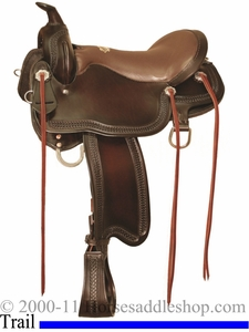 "** SALE **15.5"" to 18.5"" Tucker Gen II Rock Creek Trail Saddle 292 *free gift*"