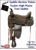 Tucker High Plains Trail Saddle Review Video