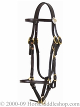 SOLD Tucker Logo Halter Bridle CLEARANCE