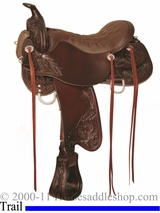"** SALE **15.5"" to 18.5"" Tucker Meadow Creek Trail Saddle 291 *free gift*"