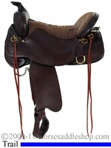 "15.5"" to 18.5"" Tucker Northwest Trail Saddle 254 *free gift*"
