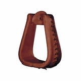 Tucker Oversized Leather Laced Stirrups 268