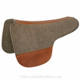 Tucker Round Skirt Wool Felt Saddle Pad CLEARANCE