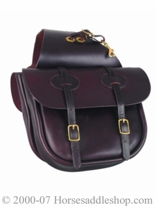 Tucker Saddlery Traditional Saddle Bag  tk123