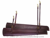 Tucker Saddles Shotgun Scabbard Lined/Unlined Black,  Brown, Golden 106 141