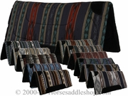 """Tuffy Saddle Pad Southwest Collection Square Skirt 32""""L x 32""""D 7911"""