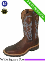 "13D Twisted X Men's Lite Cowboy Work 12"" NWS Toe Boots mlcs003 CLEARANCE"