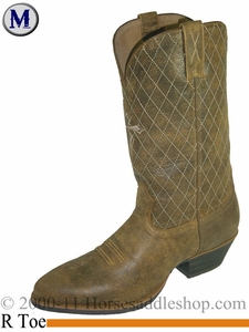 "Twisted X Men's Western 13"" R Toe Boots Bomber mwt0012"