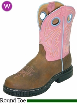 """Twisted X Women's 9"""" EZ Rider Pull On Boots Steel Toe wezs001"""