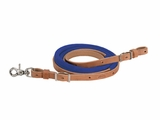 Weaver Suede Covered Barrel Rein 50-1745
