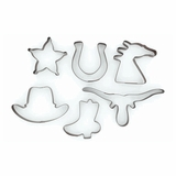 Western Cookie Cutter Set 6-pc 94974