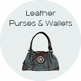 Western Leather Purses & Wallets