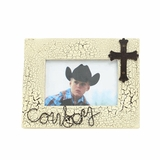 Western Moments Cowboy 4 x 6 Picture Frame 94312
