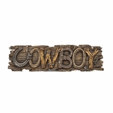 Western Moments Cowboy Wall Hanging 94712