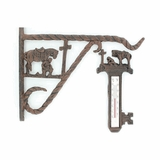 Western Moments Outdoor Iron Cowboy Prayer Set 94129