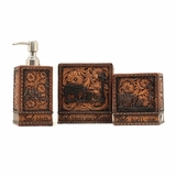 Western Moments Praying Cowboy 3 pc. Vanity Set 94966