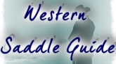 Western Saddle Guide : Expert advice