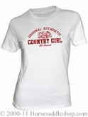 NO LONGER AVAILABLE Women's Country Girl Authentic Top
