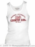 NO LONGER AVAILABLE Women's Country Girl Flourish Top Junior Fit