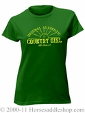 NO LONGER AVAILABLE Women's Country Girl Sun Top Junior Fit