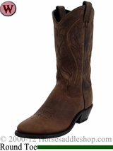 Women's Sage Longhorn Olive Brown Western Boots 3551