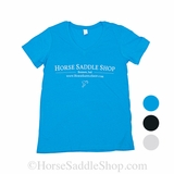 Women's Horse Saddle Shop T-Shirt