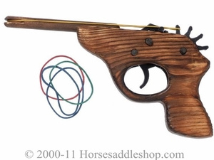 Wooden Rubber Band Gun 87-89403