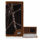 DISCONTINUED Youth Justin Mossy Oak Brown Rodeo Wallet 17380222