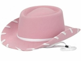 Youth Pink Felt Cowboy Hat by M & F 7110624