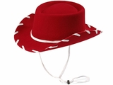 Youth Red Felt Cowboy Hat by M & F 7110604