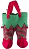 Elf Pants Double Bottle Wine Gift Bag
