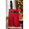 Santa Pants Wine Bottle Gift Bag