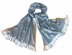 Avani Wild Silk in Subtle Shades of Blue