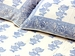 Tilonia Home: King Duvet Set - Blue & White Floral