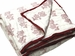 Tilonia Home: Queen Quilt - Cranberry Red & White Floral