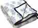 Tilonia Home: Twin Quilt - Blue & White Floral