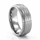 ARBORA Tungsten Carbide Ring by J.R. YATES