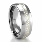 ArtCarved Tungsten Carbide & Sterling Silver Ring - RICHARDS