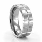 BALLANTINE Tungsten Carbide Ring by J.R. YATES