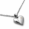 Diamond Heart Necklace by Edward Mirell