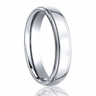 BENCHMARK 5.5mm Cobalt Chrome Wedding Band