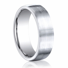BENCHMARK Brushed Cobalt Chrome Wedding Band