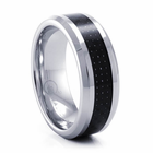 BENCHMARK Cobalt Chrome & Carbon Fiber Ring Finley