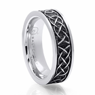 BENCHMARK Celtic Design Cobalt Chrome Ring