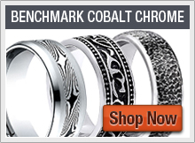 Benchmark Cobalt Chrome Rings