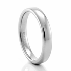 BENCHMARK Ladies 3.5mm Palladium Wedding Band