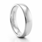 BENCHMARK Palladium Wedding Band - 5.5mm