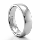 BENCHMARK Palladium Wedding Band - 6.5mm