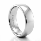 BENCHMARK Palladium Wedding Band -7.5mm wide